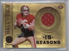 2011 Panini Gold Standard Joe Montana Hall of Gold Jersey #'ed 197/299