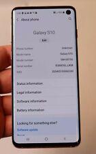 AT&T SAMSUNG GALAXY S10 SM-G973U 128GB PINK - CLEAN GOOD COND. *READ*