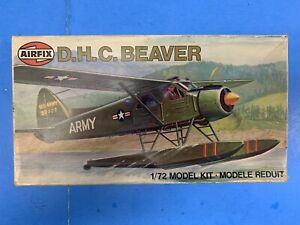 * AIRFIX 1/72 SCALE D.H.C. BEAVER PLASTIC MODEL KIT #03017-7 *ST