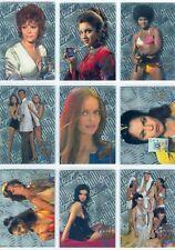 James Bond Connoisseurs Collection Volume 2 Complete FX Tech Card Set W10-18