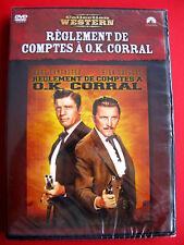 "DVD ""Réglement de compte a ok corral "" Film burt lancaster, kirk douglas Neuf"