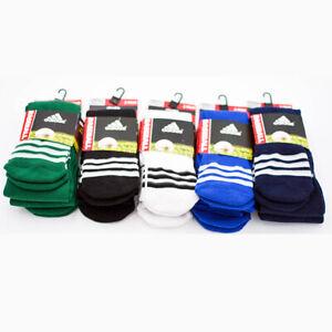 New Adidas Boys 2 Pk Baseball Climalite Socks Cushioned Compression 13C-3Y 4Y-6