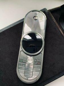 Motorola AURA 2GB 2G GSM. Slightly used. Full accessories kit.