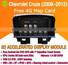 Android 5.1 Car DVD Radio Stereo GPS Navi Wifi for Chevrolet Cruze Holden Cruze