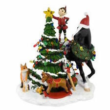 Enesco - Centerpiece - Trail of Painted Ponies - Christmas Woodland