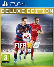 FIFA 16 Deluxe Edition for Playstation 4 PS4 - UK Preowned - FAST DISPATCH