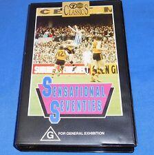 Sensational Seventies 70's AFL Footy Football VHS Video108 Min AFV Highlights