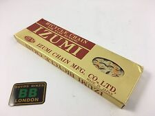 "Gold IZUMI Japan 1/8"" 116L bicycle CHAIN - Old School BMX"