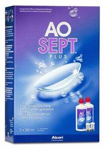 AO Sept Plus Kontaktlinsenreiniger von Alcon neu