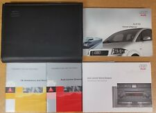 GENUINE AUDI A2 HANDBOOK OWNERS MANUAL WALLET 1999-2005 PACK E-530
