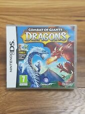 Combat of Giants - Dragons (Nintendo DS) Game - Excellent Condition