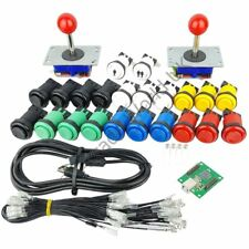 2 x Arcade Joysticks 20 x Buttons And 1 x 2 Player Arcade Controller Kit No2