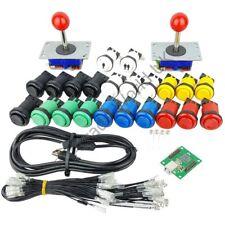 2 x Arcade Joysticks 20 x Buttons And 1 x 2 Player Arcade Controller Kit No2