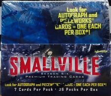 Smallville Season 6 Trading Card Full Box MINT Inkworks Factory sealed