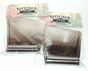 """2 KITCHEN Stainless Steel Chopper 5"""" x 4"""" New In Packages"""