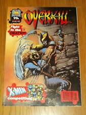 OVERKILL #48 MARVEL UK COMIC MAGAZINE DEATHS HEAD WOLVERINE