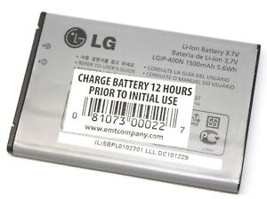LG LGIP-400N Battery 3.7V 1500mAh for VM670 LS670 P509 MS690 P500 P503 Phone