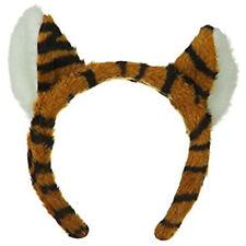 Tiger Big Cat Ears Headband Sexy Adult Costume Accessory