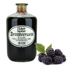 Fruchtwein Honigwein Met Obstwein Beerenwein 1 Liter Apothekerflasche 12 Sorten