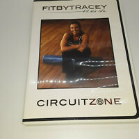 Fit By Tracey - Circuit Zone (DVD, 2008) Exercise Fitness At Home-Tracey Staehle