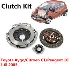 Clutch Kit For Toyota Aygo Citroen C1 Peugeot 107 1.0i 2005-14 1KR-FE 1KR Engine