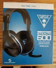 Turtle Beach Stealth 600 Black and Blue Headband Headsets for Multi-Platform