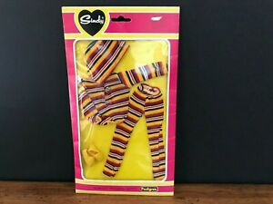 Sindy Doll Clothes Shoes Pedigree Outfit #4113OU Shirt Pants New Vintage Package