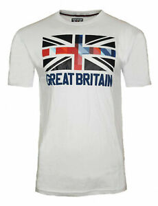 Team GB Olympic Games T Shirt Mens Union Jack Flag 2020 2021 Great Britain Top