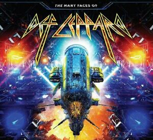 Def Leppard - The Many Faces Of (Various Artists) 3CD