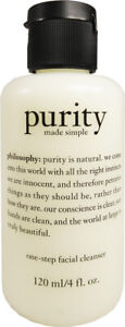 Purity Made Simple One Step Facial Cleanser by Philosophy, 4 oz