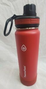 Thermoflask Stainless Steel 24oz Water Bottle Red