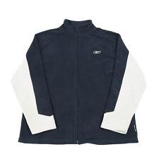 Vintage REEBOK Full Zip Fleece Jacket | Coat Retro 90s Winter Hiking Walking Top