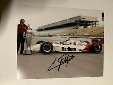 Emerson Emmo Fittipaldi Signed 8 X 10 Indianapolis Indy 500 Autographed 1993