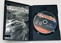 Need For Speed Carbon PS2 Sony PlayStation 2 Greatest Hits Complete CIB Manual
