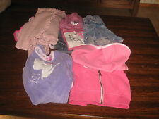 Lot de 11 vêtements enfants 2 ans filles Jupe  pantalon veste manteau bonnet