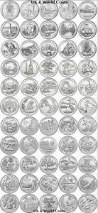 2010-2021 COMPLETE US 158 NATIONAL PARKS Q BU DOLLAR P/D/S MINT COINS PICK YOURS
