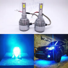 H1 Led Headlight Conversion Kit 55W 8000Lm High Low Beam Bulbs 8000K Ice Blue