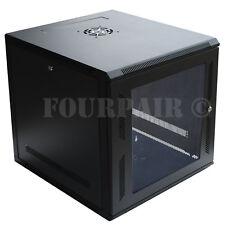 9U IT Wall Mount Network Server Data Cabinet Rack Locking Lock & Key - 18