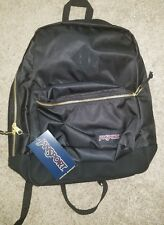 Jansport Bags Super FX Back Pack Men Black New bag authentic