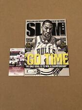 Derrick Rose Signed SLAM Magazine Chicago Bulls NBA STAR MVP w/ JSA COA