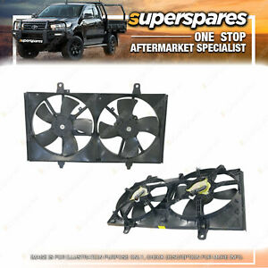 Superspares Radiator A/C Condenser Fan for Nissan Maxima J31 12/2003-01/2009