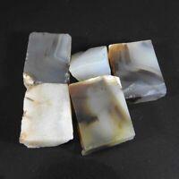 Natural Bostwana Agate Rough  Wholsale Lot 140.10Carat Loose Gemstone