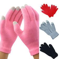 DamenHerren Smartphone Touchscreen Winter Handschuhe für Warm Handy Tablet NEU