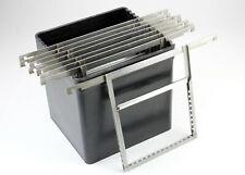 U198323 Yankee 4x5 Sheet Film Developing Tank w/8 Kodak Film Processing Hangers