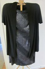 new with tags  EVE HUNTER, SIZE 16 ,BLACK AND SILVER R.R.P. $269.00