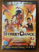Street Danza 3D DVD 2010 Britannico Britain's Got Talent Film Musical 2-Discs