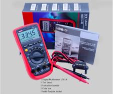 Uni T Ut61a Lcd Multimeter Acdc Dmm 10a Ammeter Ohmmeter Voltage Cap Ef Tester