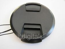 Front Lens Cap For Pentax SMC P DA 18-250 mm F/3.5-6.3 Lens Snap-on Dust Cover