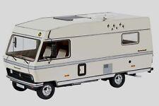 Schuco 1:18 Hymermobil 581 BS, Cream, Resin Caravan Camper RV Motorhome