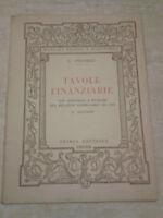 G. Antonelli - TAVOLE FINANZIARIE - 1947 - Ofiria
